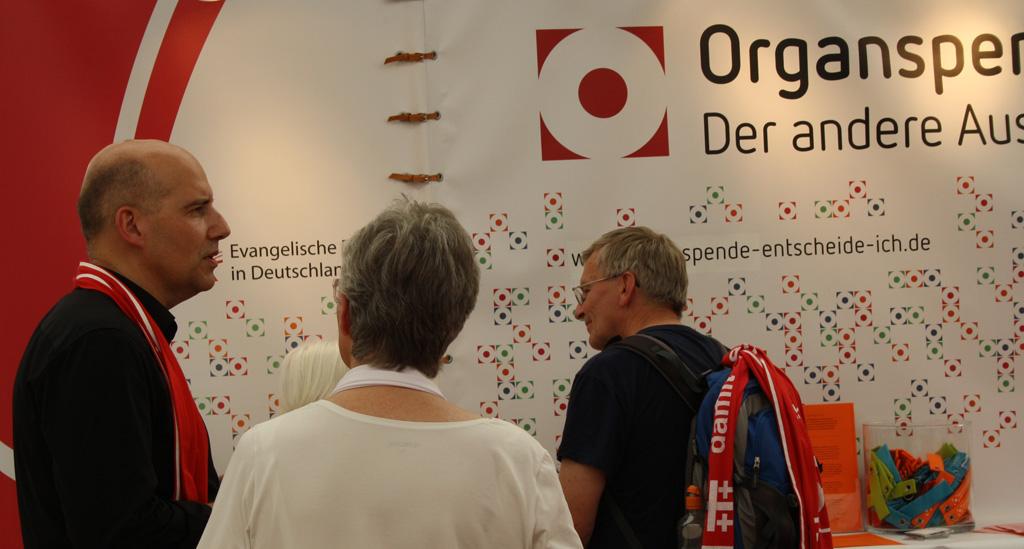 Organspender kennenlernen
